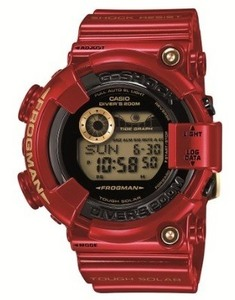 Image of G-shock Frogman 30th Anniversary Rising RED Gf-8230a-4jr