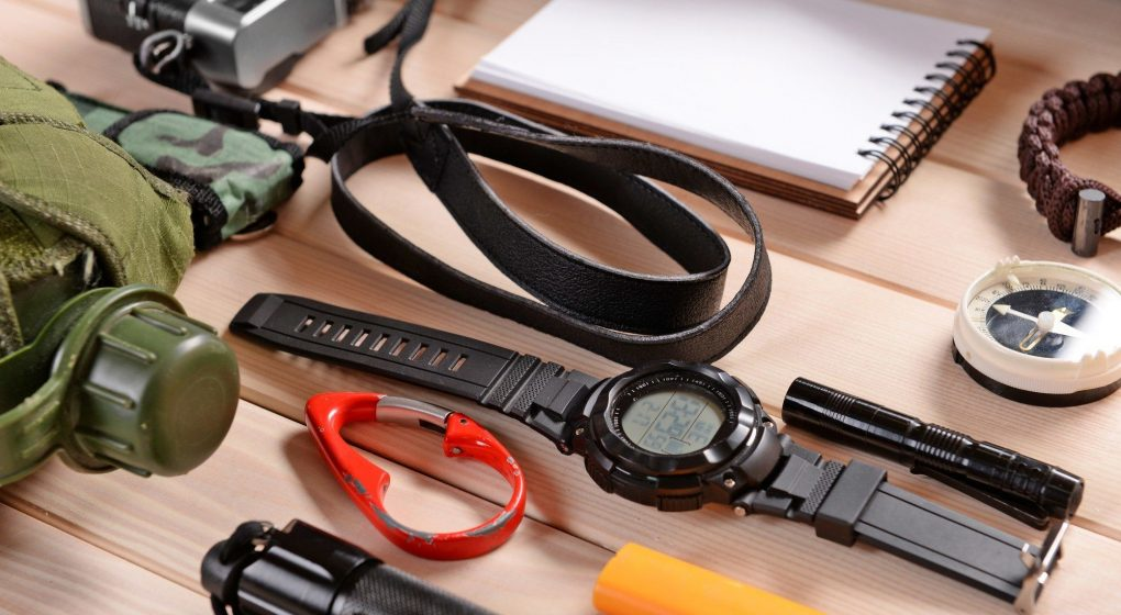 ABC watch and other survival items