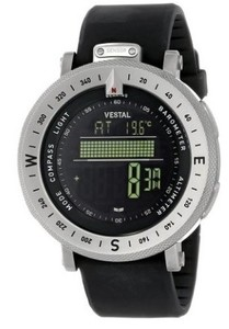 Image of Men's GDEDP01 The Guide Stainless Steel Digital Watch