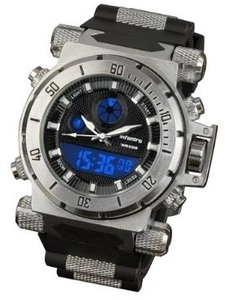 Image of Mens Military Army Sport Stainless Steel Case Quartz